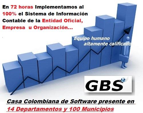 Su Sistema de Información Contable y Gerencial Implementado en 72 horas:
