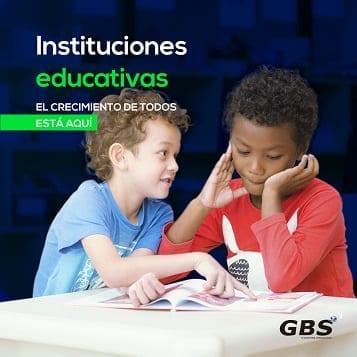 Software GBS para Colegios Publicos y Privados